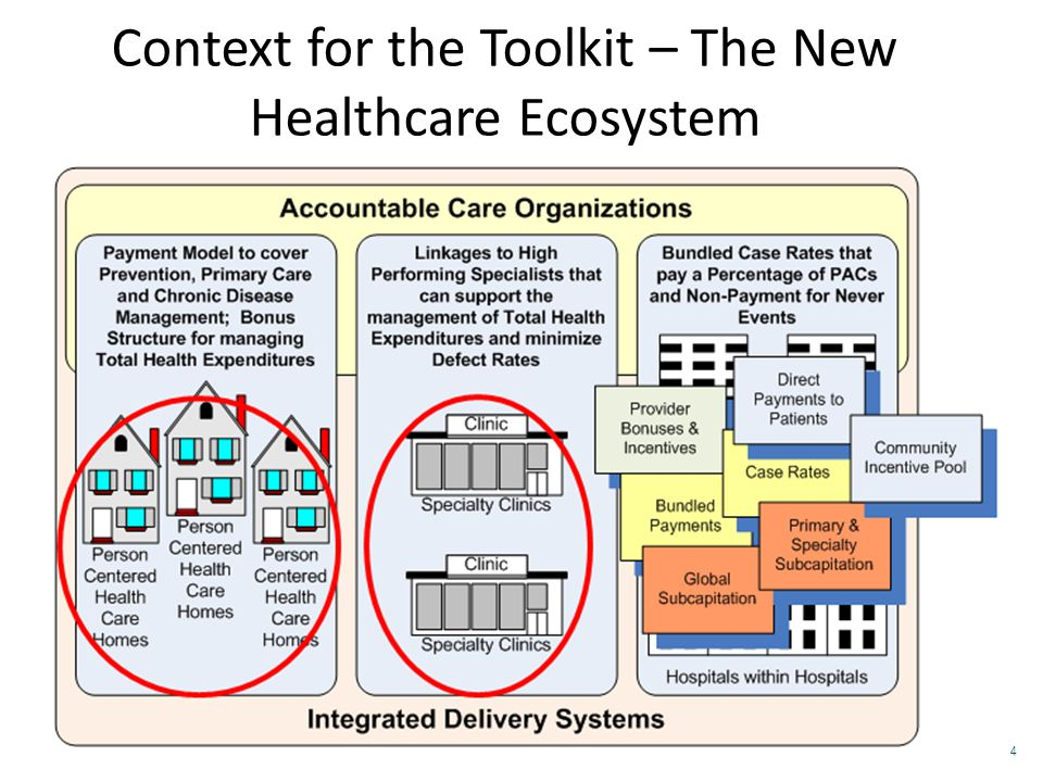 Context for the Toolkit – The New Healthcare Ecosystem 4