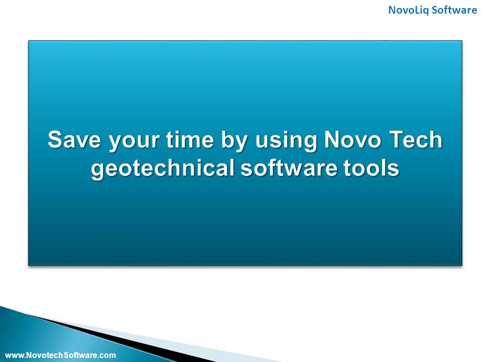 NovoLiq Software www.NovotechSoftware.com