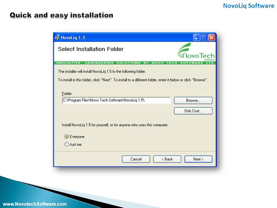 NovoLiq Software