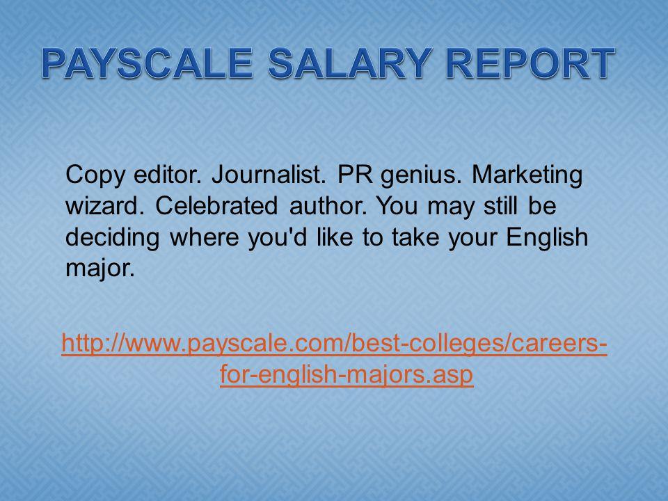 Copy editor. Journalist. PR genius. Marketing wizard.