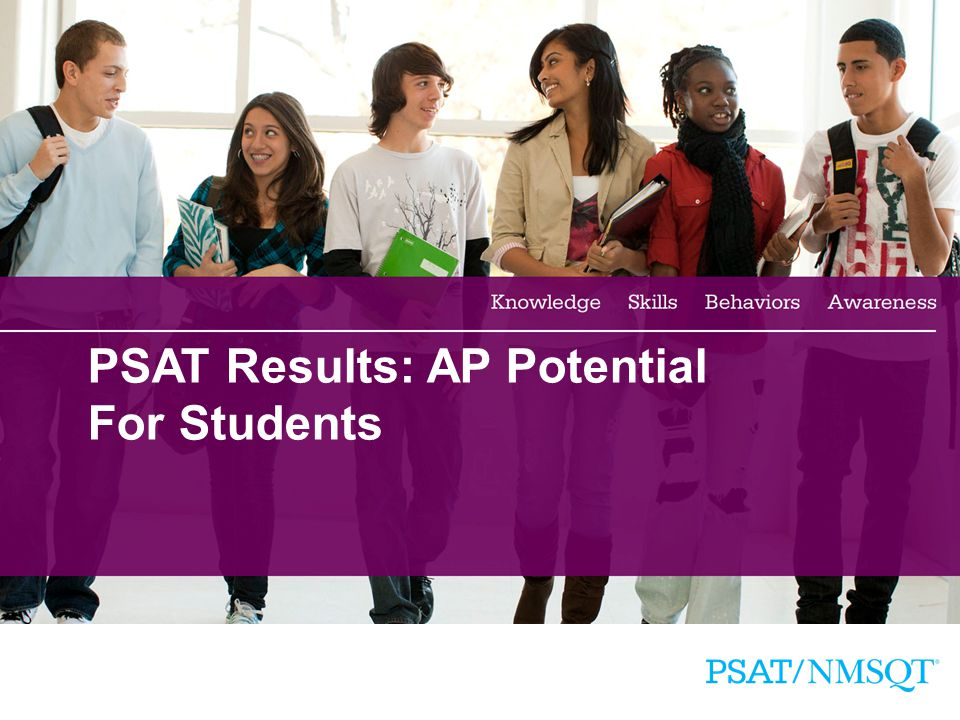 18 PSAT Results: AP Potential For Students