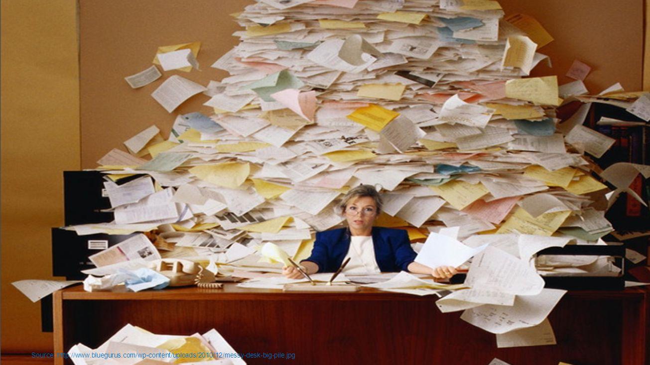 Source: http://www.bluegurus.com/wp-content/uploads/2010/12/messy-desk-big-pile.jpg