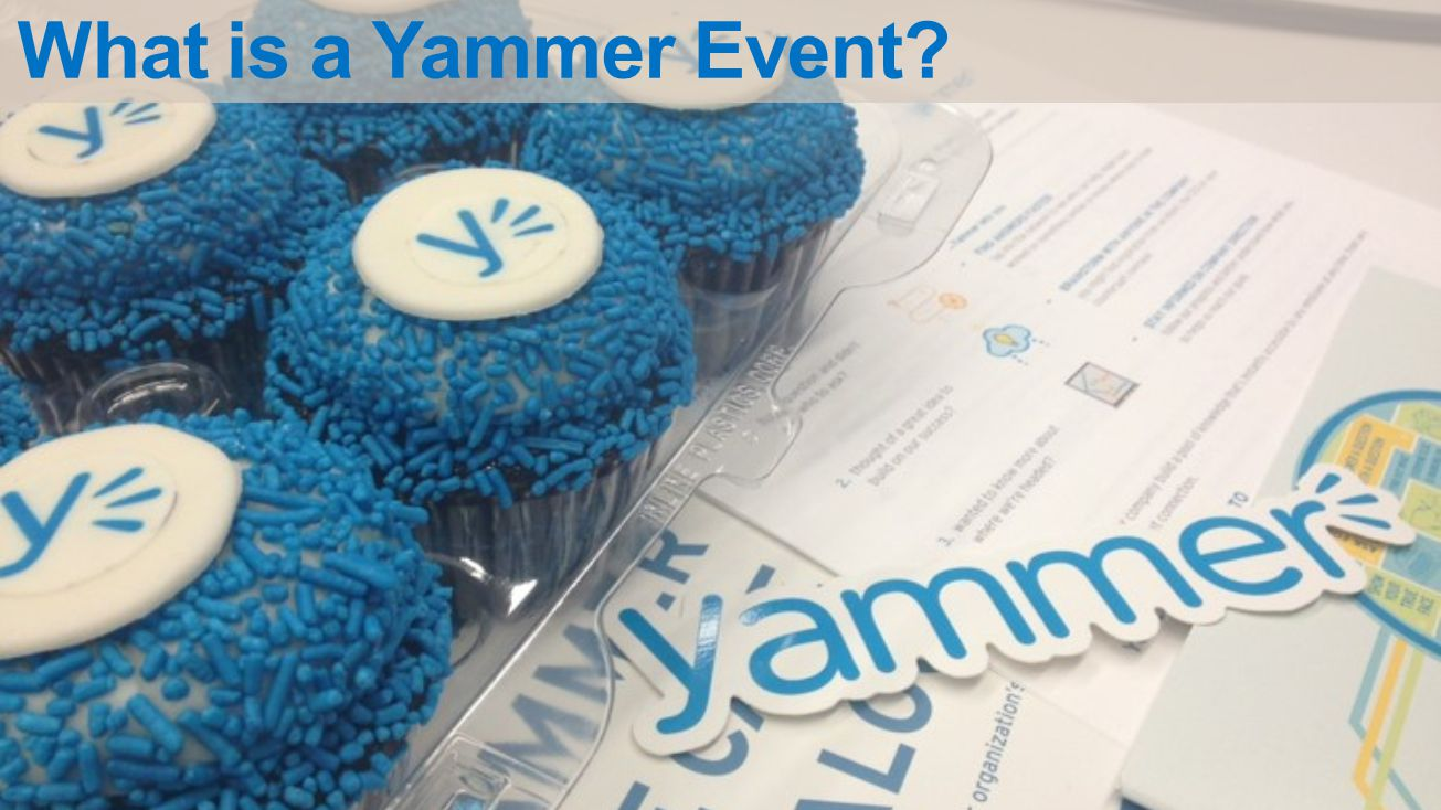 What is a Yammer Event