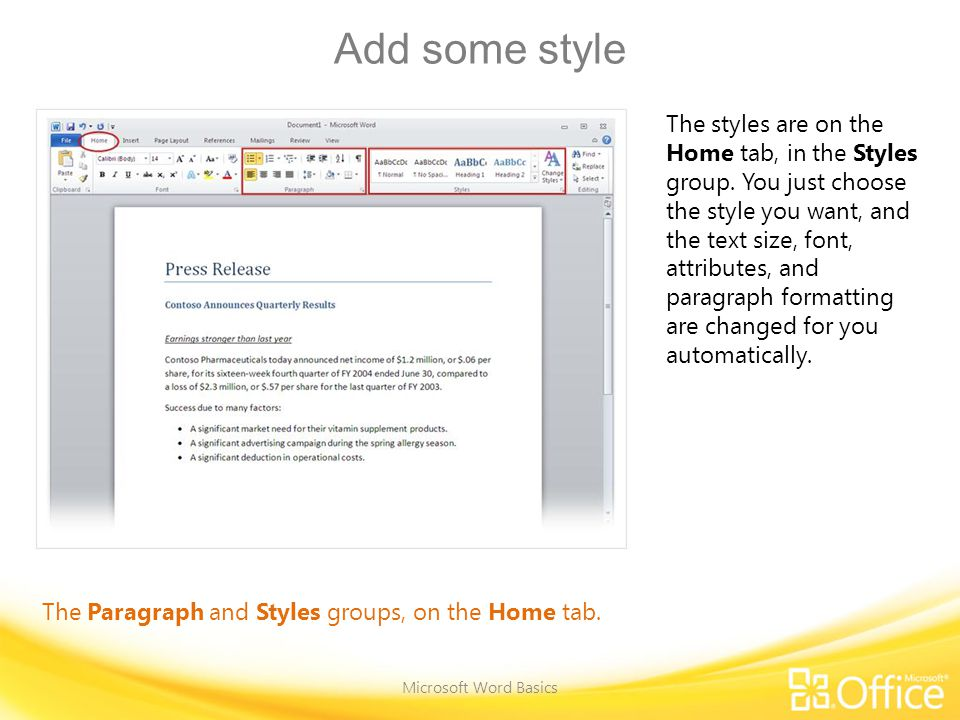 Change margins Microsoft Word Basics The Margins button on the Page layout tab.