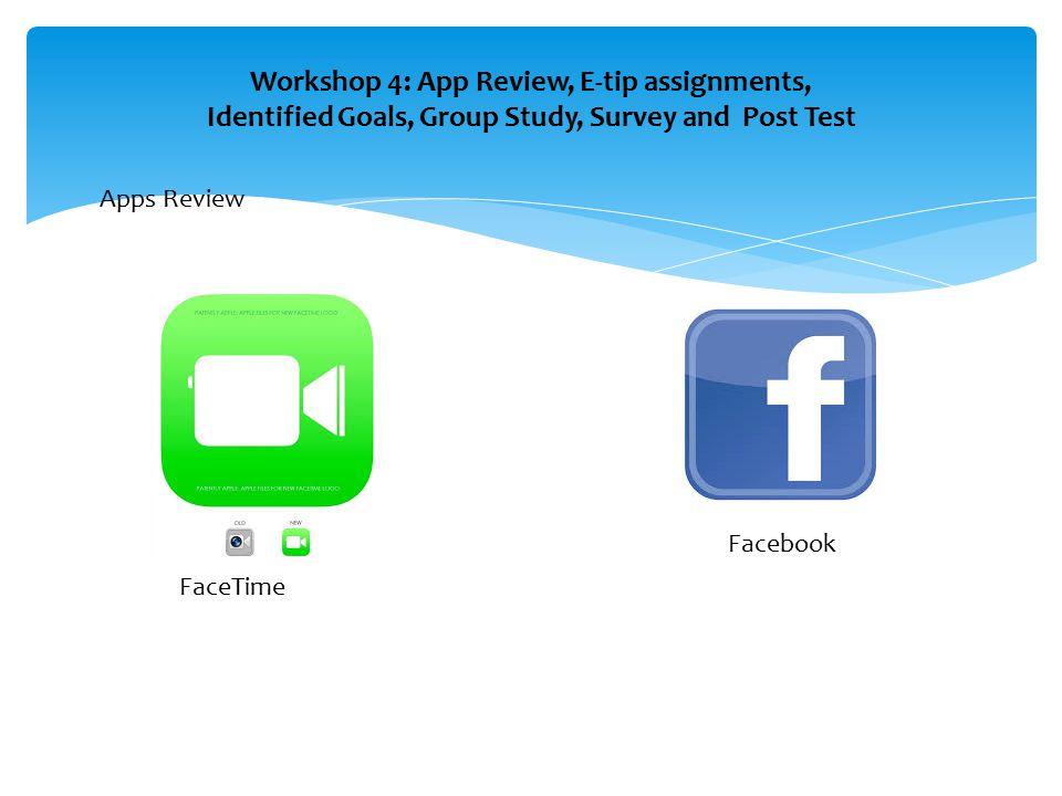 Home work: Go to iPad page on the http://atk.ku.edu website.