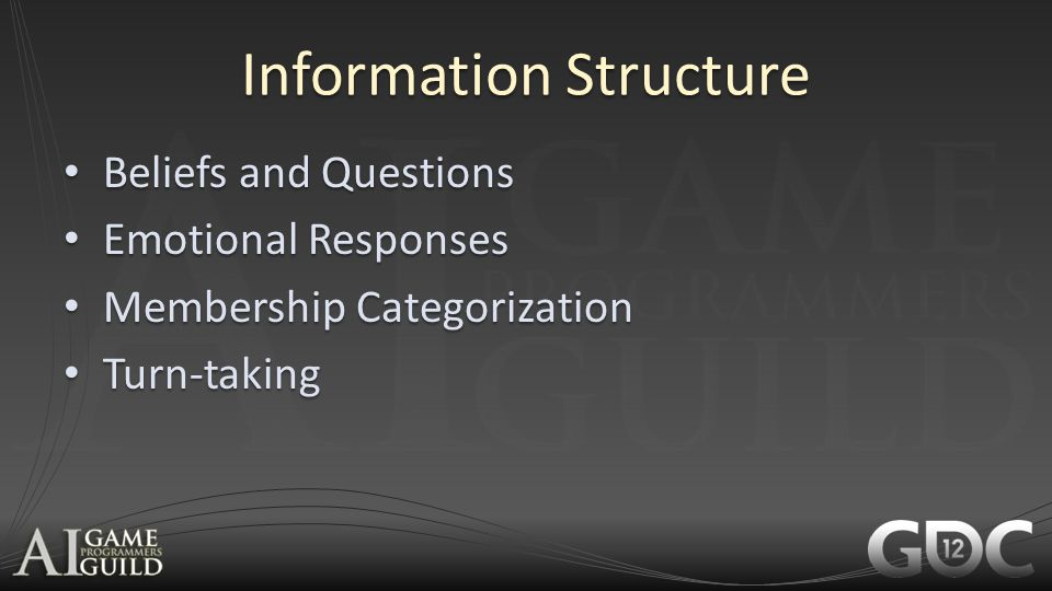 Information Structure Beliefs and Questions Beliefs and Questions Emotional Responses Emotional Responses Membership Categorization Membership Categor