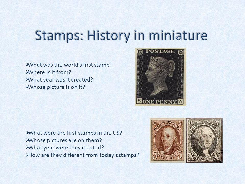  What was the world's first stamp.  Where is it from.