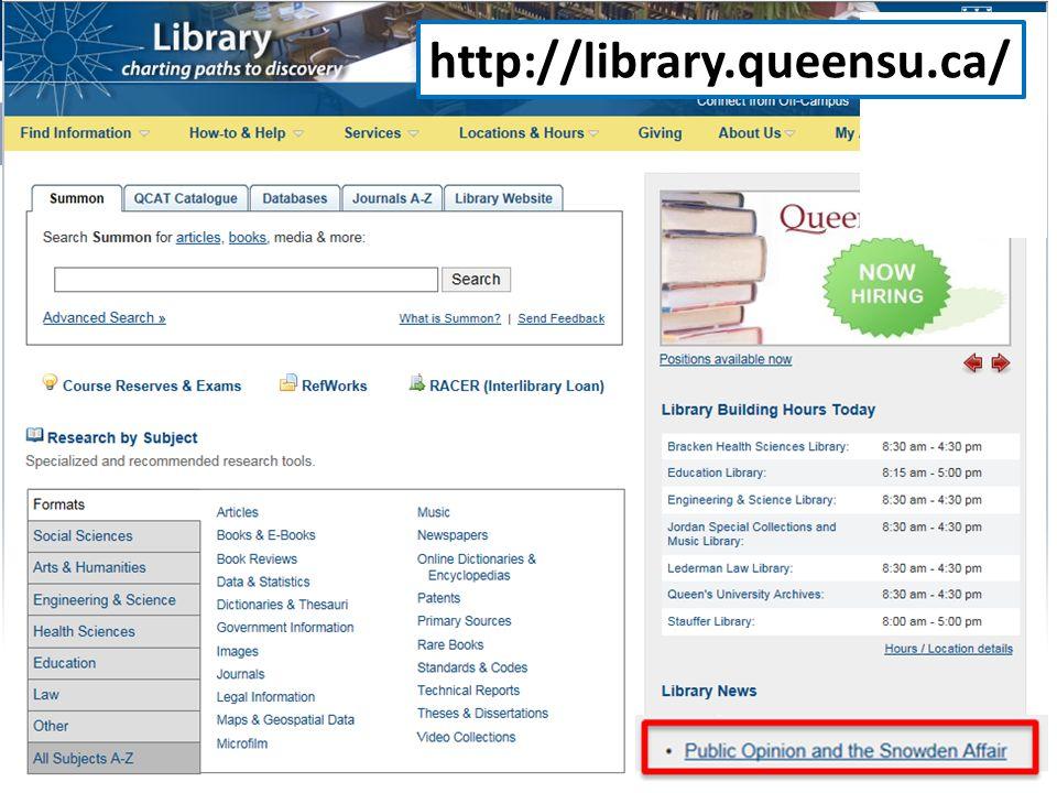 http://library.queensu.ca/