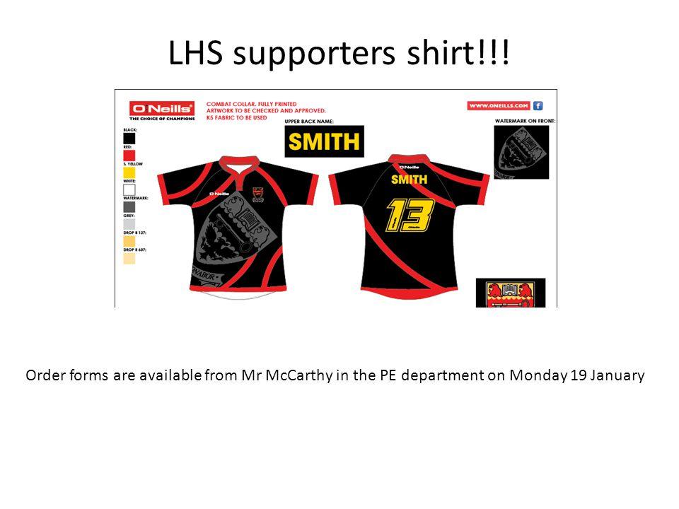 LHS supporters shirt!!.