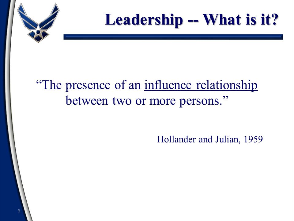Traits of Effective Leaders Loyalty Integrity Decisiveness Selflessness Energy Commitment 14