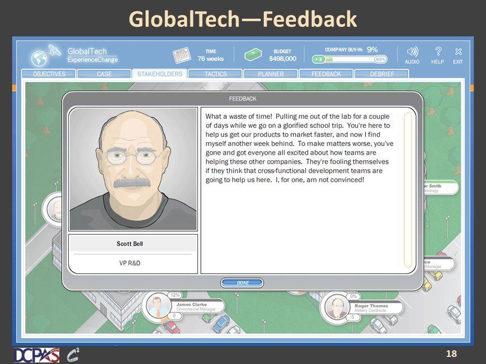 GlobalTech—Feedback 18