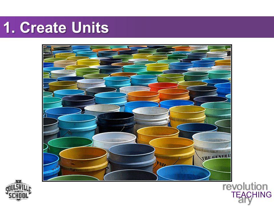 1. Create Units
