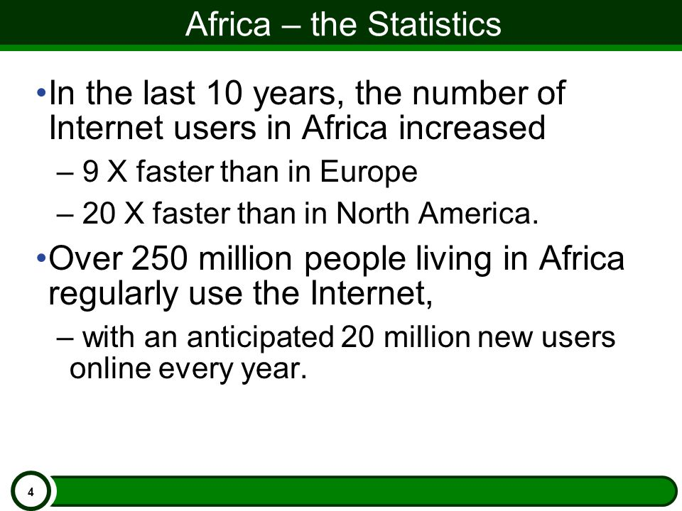 Africa Growth Rate 5