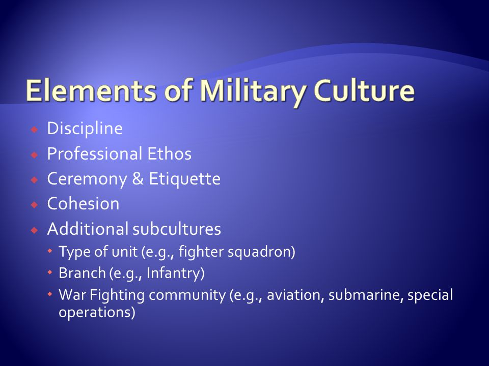  Acknowledging important skills learned during military service  Honoring important relationships while in the service  Moving toward identity integration  Allowing for discussions of increased engagement with chosen values through greater awareness of cultural norms and flexibility in enacting them