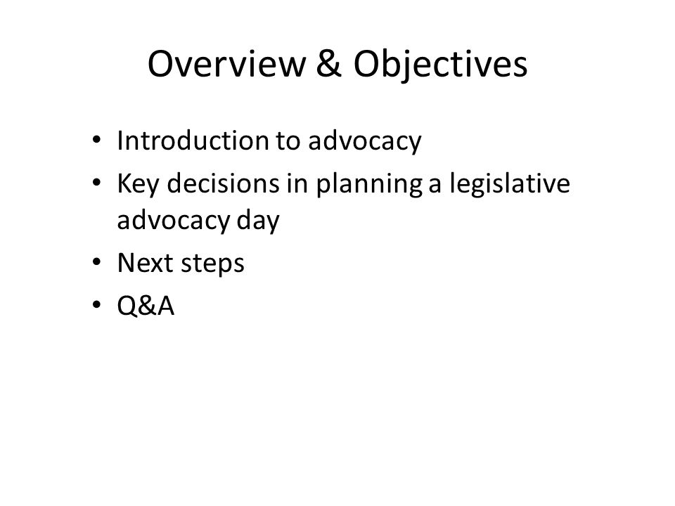 Training workshops What is advocacy.