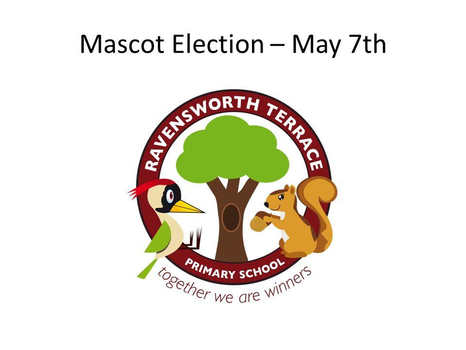 Mascot Election – May 7th