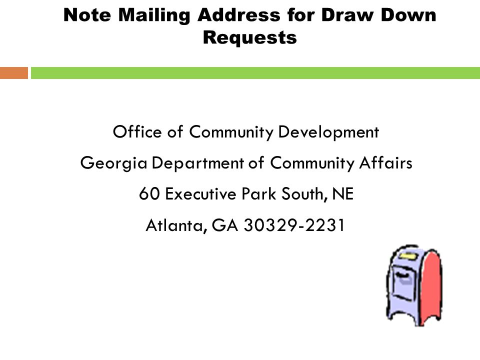 "Draw-Downs  DCA processes draws on Tuesdays & Thursdays  Time your draw-downs accordingly; ""funds should be in your bank 7 days from the day DCA pro"