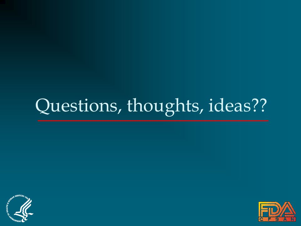 Questions, thoughts, ideas