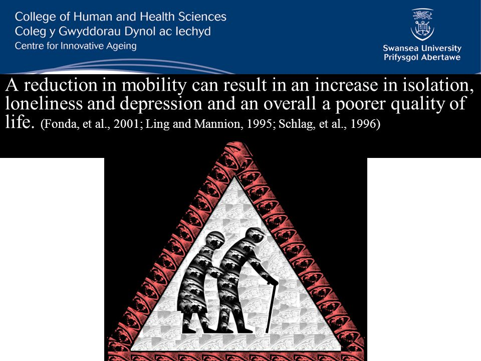 More miles driven per person Source: DfT (2002, 2006, 2010) Older people are more healthy and active as a cohort than ever before and as such are also more mobile (Tomassini, 2004).