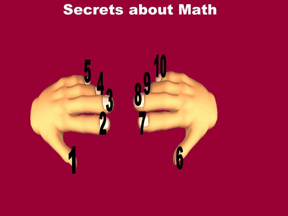 Secrets about Math