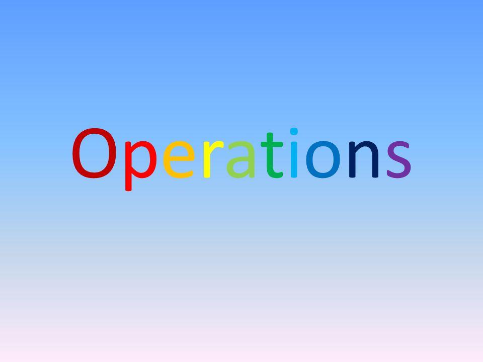 OperationsOperations