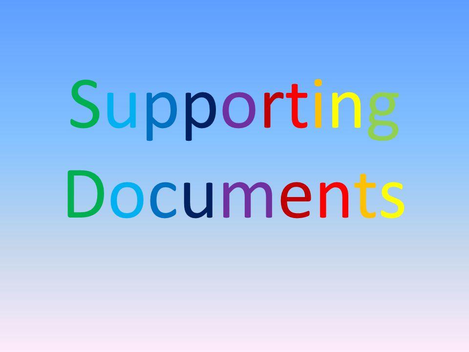 SupportingDocumentsSupportingDocuments