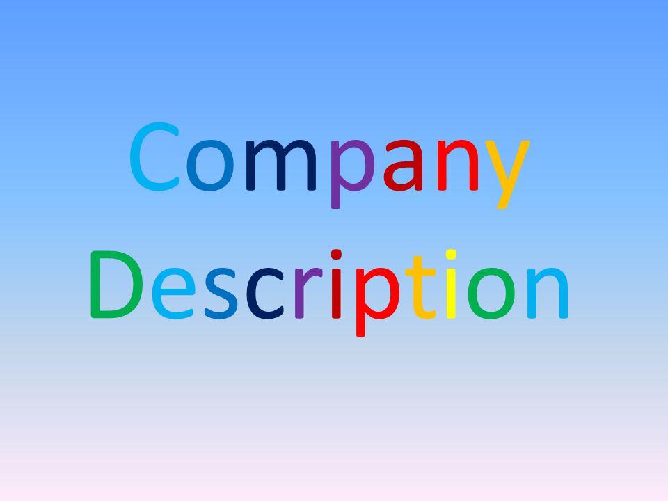 CompanyDescriptionCompanyDescription