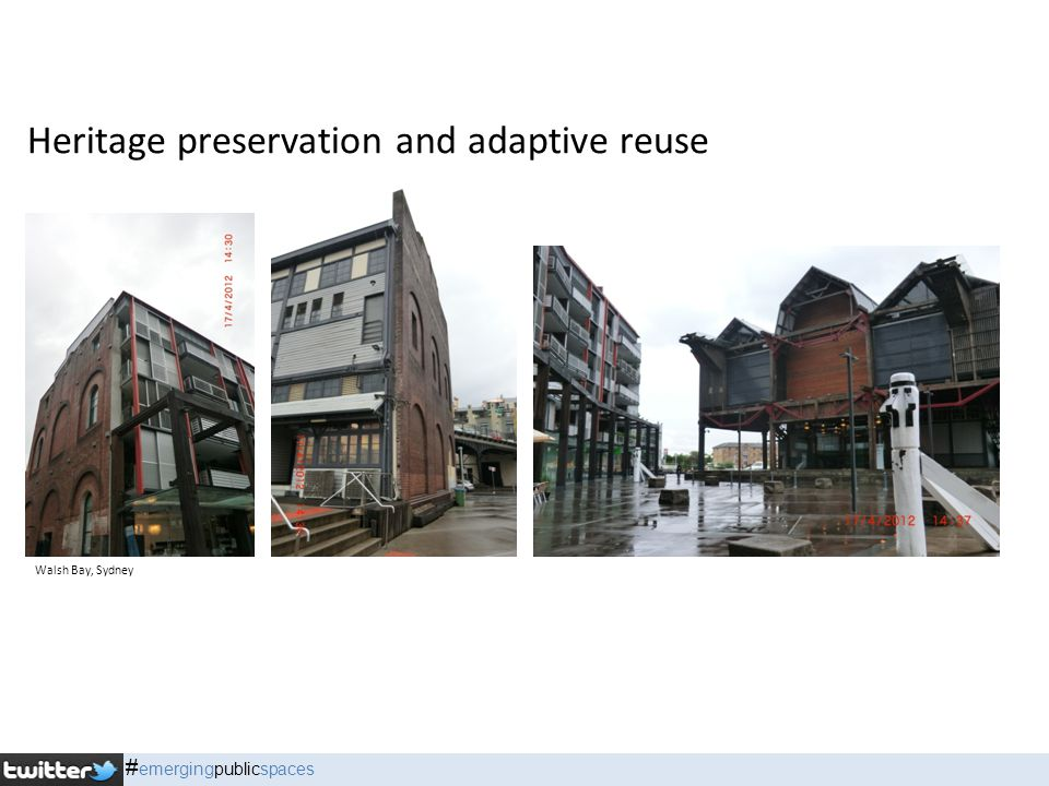 Heritage preservation and adaptive reuse Walsh Bay, Sydney # emergingpublicspaces