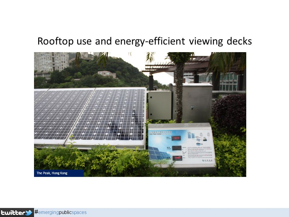 Rooftop use and energy-efficient viewing decks The Peak, Hong Kong # emergingpublicspaces
