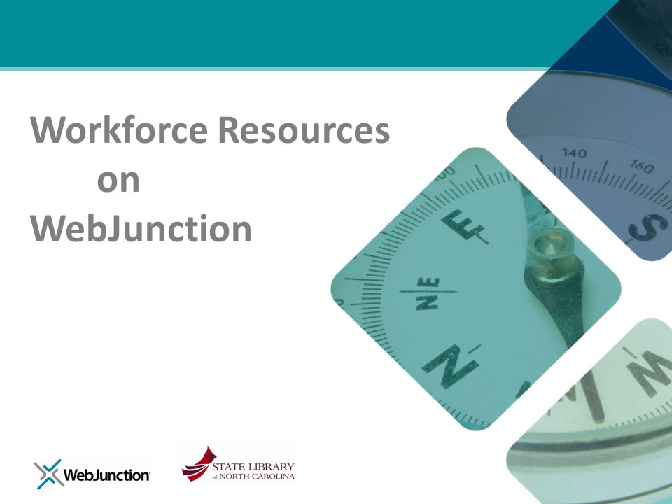 Workforce Resources on WebJunction