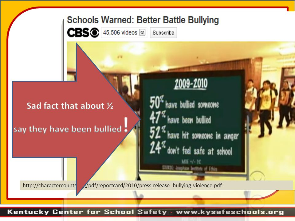 http://charactercounts.org/pdf/reportcard/2010/press-release_bullying-violence.pdf
