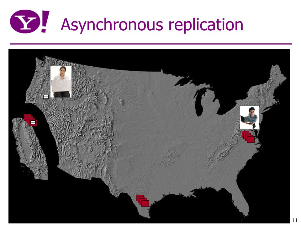 11 Asynchronous replication