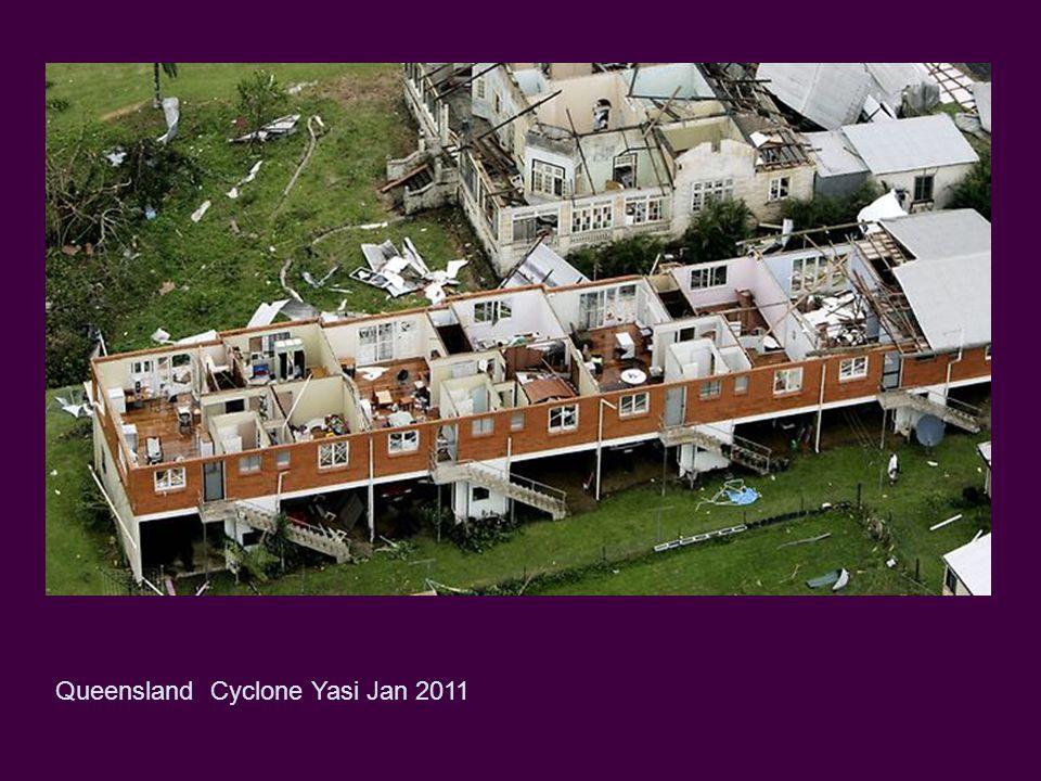 Queensland Cyclone Yasi Jan 2011