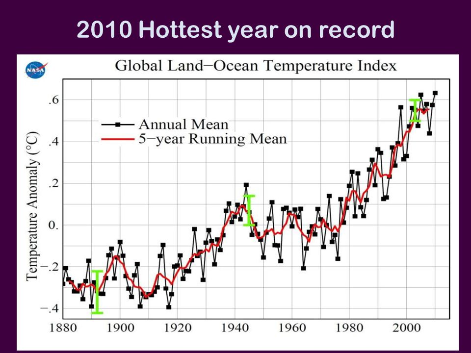 2010 Hottest year on record