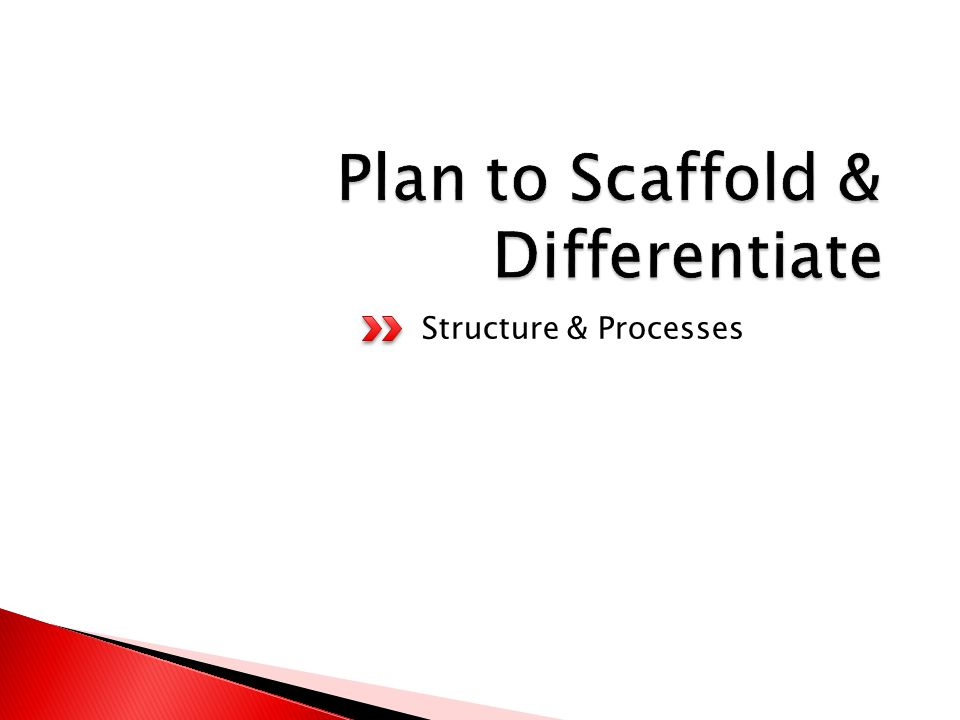 Scaffolding  is used imprecisely. is often conceived of a structure, ignoring the process.