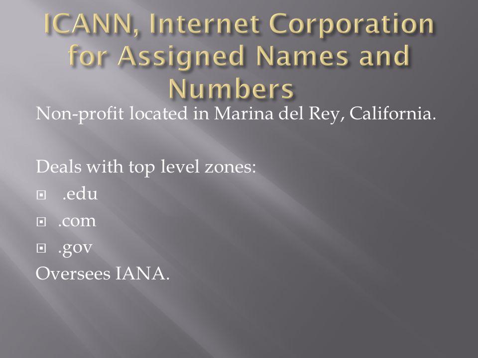 Non-profit located in Marina del Rey, California.