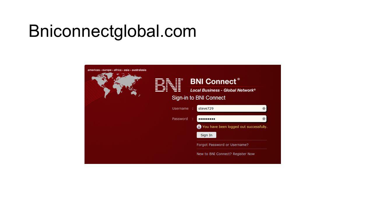 Update BNI Profile