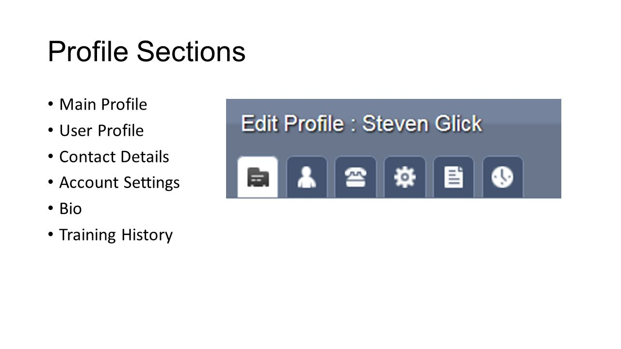Main Profile Name, business name, industry/classification My Business – description Keywords Complete BOTH sections!