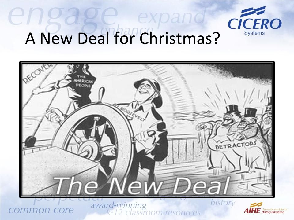 A New Deal for Christmas?