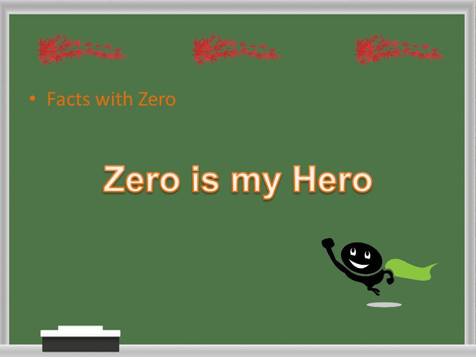Facts with Zero