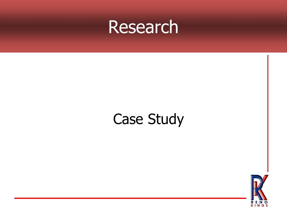 Research Case Study
