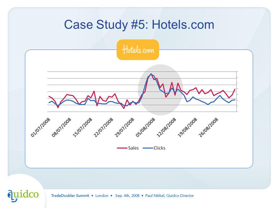 Case Study #5: Hotels.com