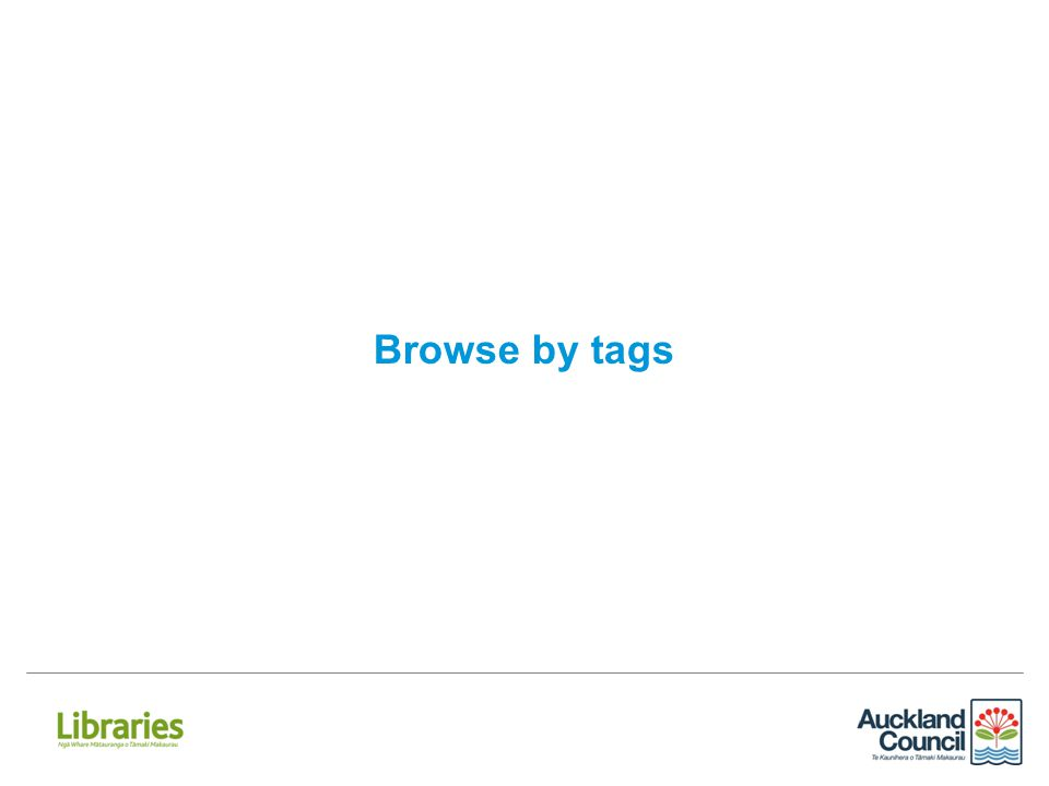 Browse by tags