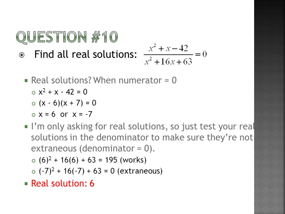  Find all real solutions:  Real solutions.