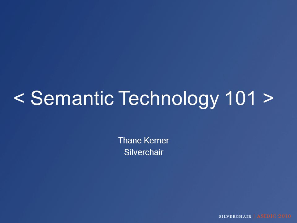 What is… The Semantic Web.A Semantic Data Layer. Semantic Tagging.