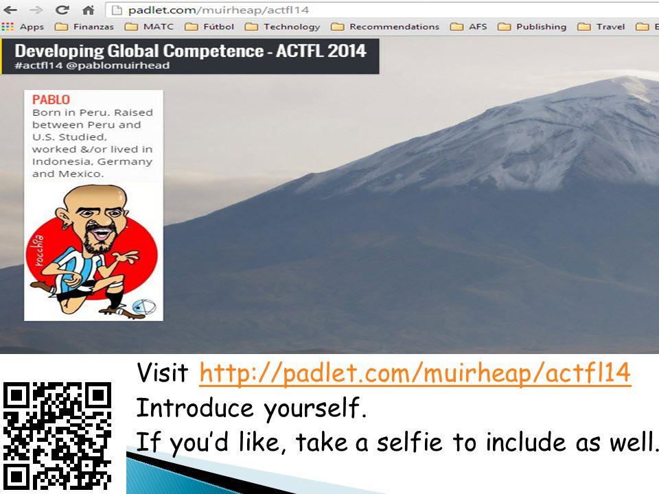 @PabloMuirhead #actfl14 muirheap@matc.edu http://losmuirhead.wikispaces.com