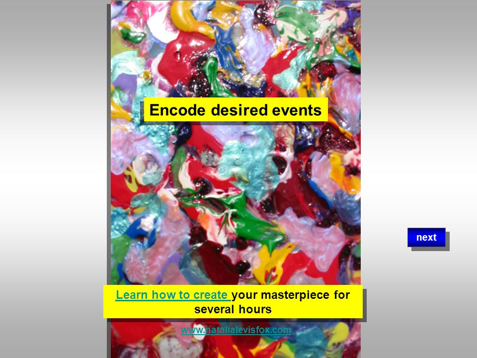 Create & encode your dreams in painting Create & encode your dreams in painting next www.natalialevisfox.com