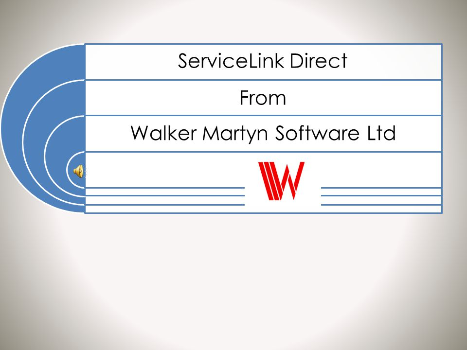 ServiceLink Direct From Walker Martyn Software Ltd
