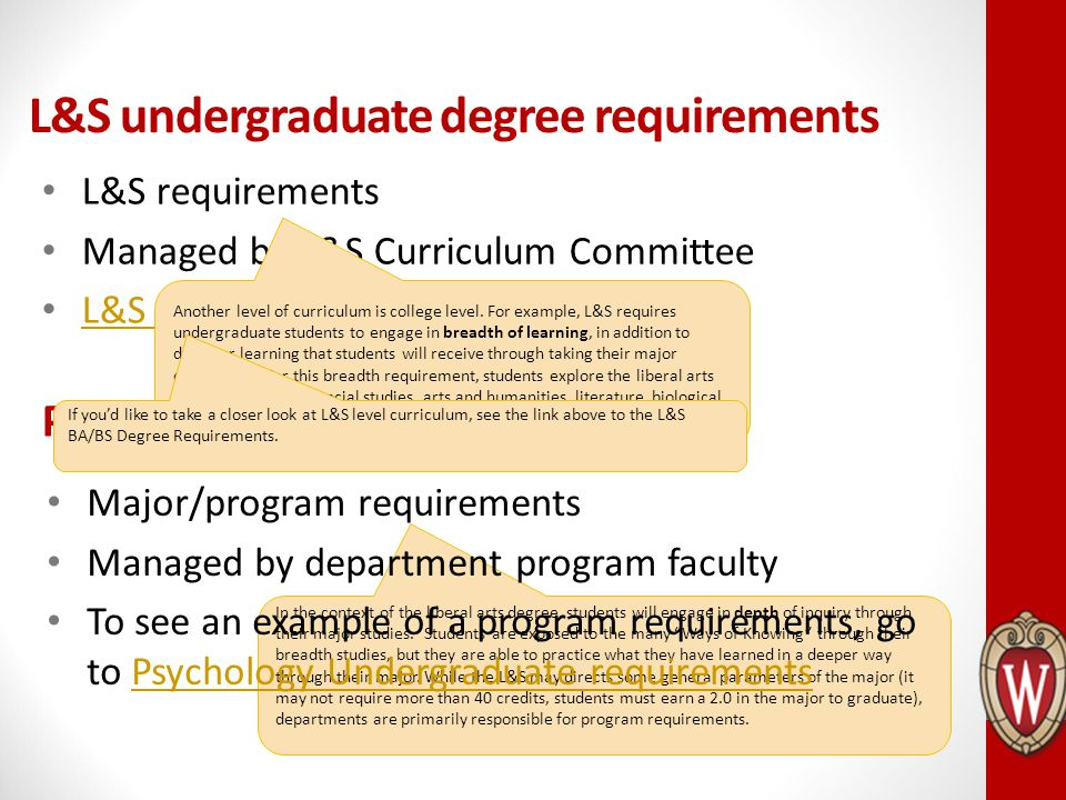 Graduate Curriculum Program requirements managed by faculty Graduate School is responsible for conferring graduate degrees.