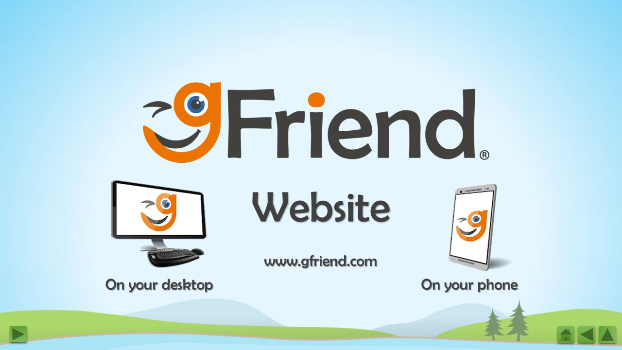Website ® On your desktop On your phone www.gfriend.com